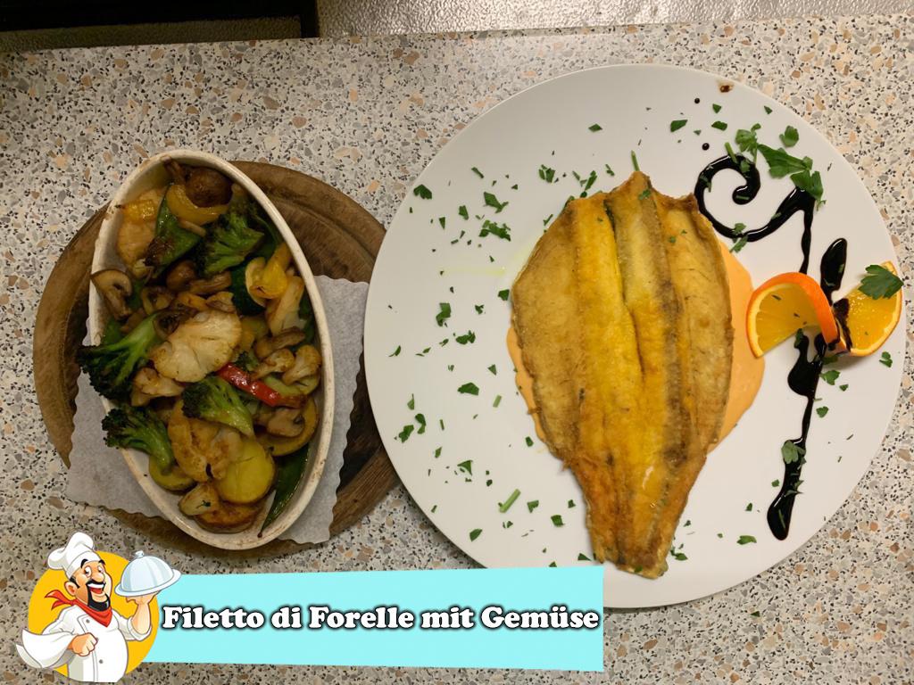 Filetto di Forelle mit Gemüse-2
